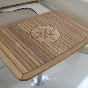Tavolo Teak Nautic Star - Circle