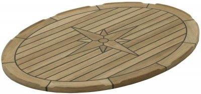 Tavolo Teak Nautic Star - Ellips