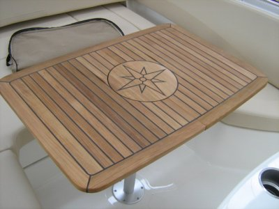Tavolo Teak Nautic Star - Circle - Lepanto Marine